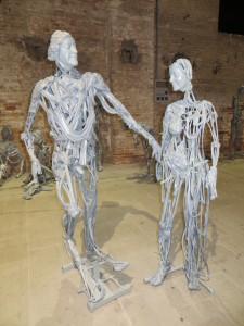 'venetians 2013′ by pawel althamer, venice, italy 2013