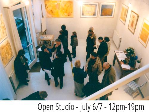 Open studio susan richter july 2013